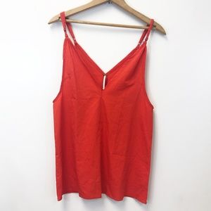 FREE PEOPLE Double V Sleeveless Top